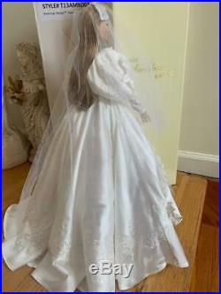 TONNER AMERICAN MODEL 22 DOLL in Gone With The Wind Scarlett's Wedding Outfit