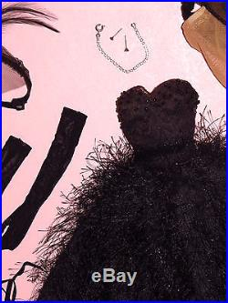 Tonner 2001 Paris LE100 Cygne Noir 16 Tyler Wentworth Doll OUTFIT