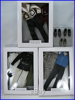 Tonner 3 Matt O'neil Doll Outfits 3 Prs Shoes Fit Jamieshow Tatum Lee Cameron