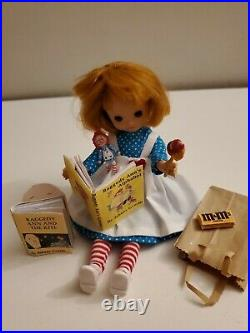 Tonner 8 Betsy McCall Doll in new Raggedy Ann outfit for Halloween w mini doll