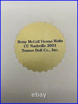 Tonner 8 Tiny Betsy McCall VIENNA WALTZ OUTFIT CU Nashville 2001 NEW RARE