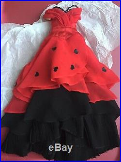 Tonner ANTOINETTE CAMI 16 QUEEN OF HEARTS CENTERPIECE DRESS DOLL Clothes Outfit