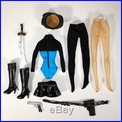 Tonner Captain Action Lady Action Outfit Fashion Superhero for Fit Body Doll