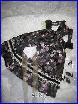 Tonner Deja Vu'Fleur de Minuit' 5 pc Outfit Only, New LE 500