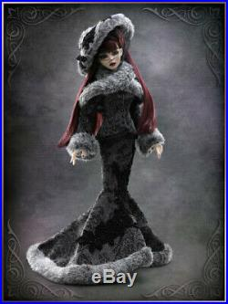 Tonner Doll Evangeline Ghastly A Cautionary Tale Full Outfit & Wig RARE