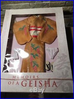 Tonner MEMOIRS of a GEISHA 16 Vinyl DOLL ENSEMBLE KYOTO SPRING outfit NRFB