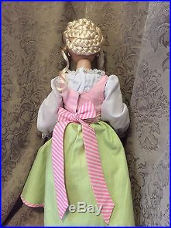 Tonner Mrs. Claus basic doll wearing Santa's Sweet Shoppe outfit