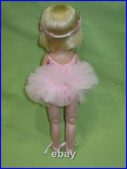 Tonner TINY BETSY McCALL Takes a Ballet Class 8 DOLL in Pink Ballerina Outfit