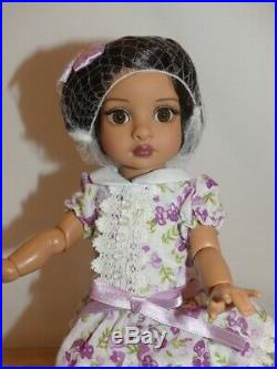 Tonner Trixie Fancy Floral Doll Effanbee 10 Dressed In Original Complete Outfit