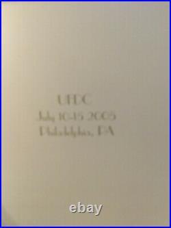 Tonner Tyler REGINA WENTWORTH 2005 UFDC Convention SET 16 vinyl DOLL & OUTFITS