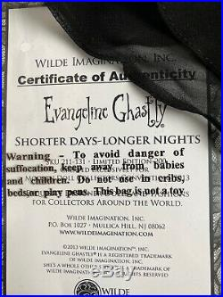 Tonner Wilde EVANGELINE GHASTLY SHORTER DAYS LONGER NIGHTS FASHION DOLL OUTFIT
