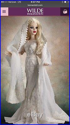 Tonner Wilde Evangeline Ghastly Ghostly Figures 18 Doll Outfit NRFB