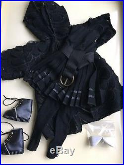 Tonner Wilde Imagination 16 Ellowyne BACK ON BLACK LE Doll Clothes Outfit NRFB