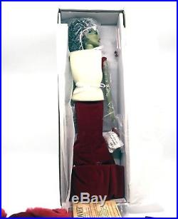 Tonner Wizard Of Oz Wicked Witch Crimson Castle Holidays Doll & Outfit NEW