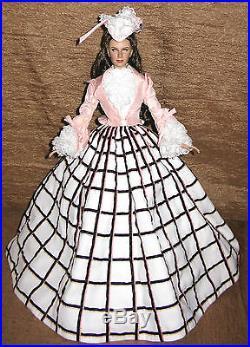 Trip to Saratoga Outfit Tonner GWTW OOAK repainted Scarlett 16 doll MIB BONUS