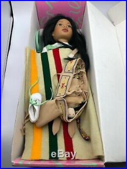 Vtg Magic Attic Club Rose Native American Doll 1997 A Tonner Doll withExtra Outfit