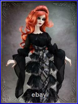 Wilde Imagination Evangeline Ghastly Shrouded in Darkness Blouse OUTFIT ONLY